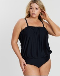 Capriosca Swimwear - Flouncy One-Piece
