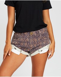 ONETEASPOON - Bandits Denim Shorts
