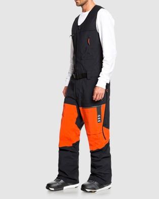 Quiksilver Mens Highline Pro 3L GORE TEX??? Snow Bib Pant - Pants (True Black)