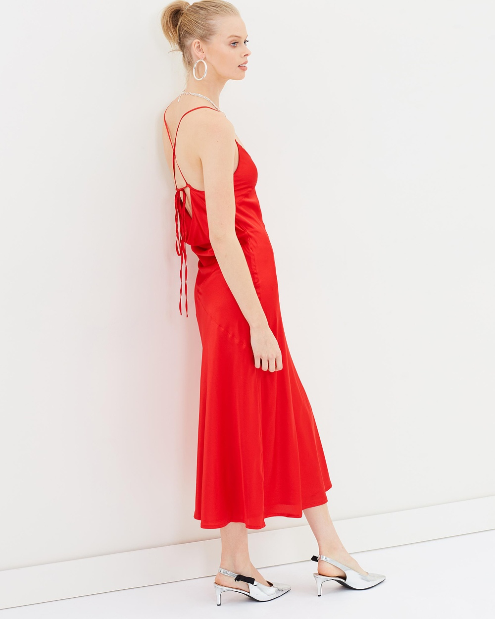 Hansen & Gretel Summer Silk Dress Dresses Scarlet Summer Silk Dress