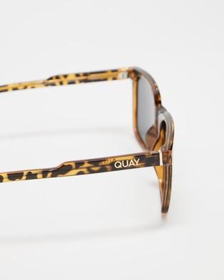Quay Australia Legacy - Sunglasses (Yellow Tort & Smoke Polarised)