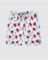 Tom & Teddy - Palm Boardshorts