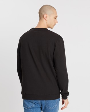 Lee Exclusive Zephyr Classic Crew Sweater - Sweats (Black)