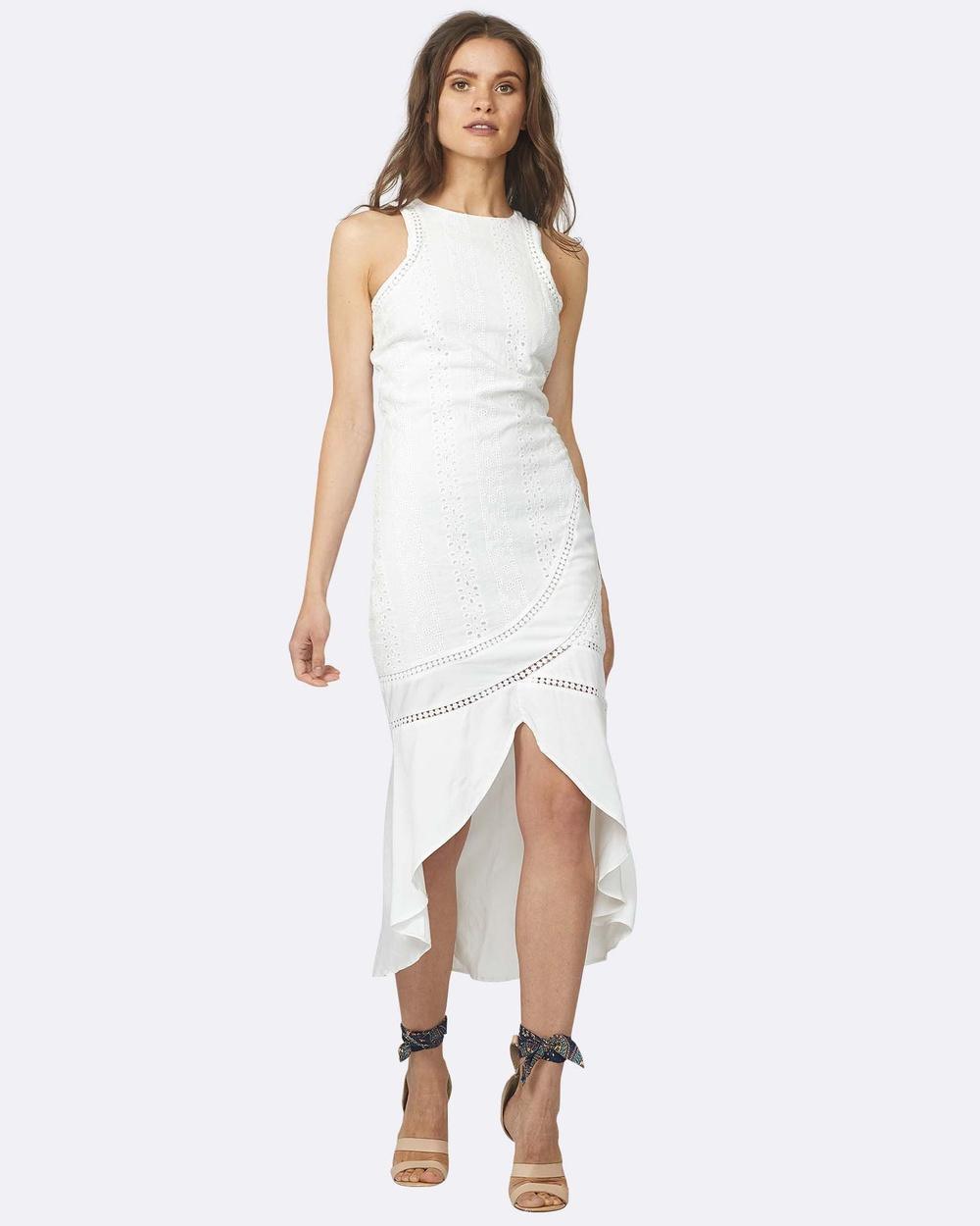 Three of Something Rhinestone Dress Dresses White Rhinestone Dress