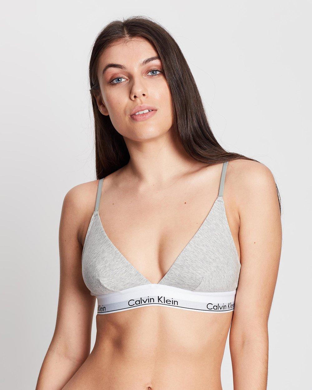 d61d6a7087 Modern Cotton Triangle Bralette by Calvin Klein Online