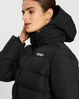 2XU Utility Insulation Jacket - Coats & Jackets (Black & White Reflective)