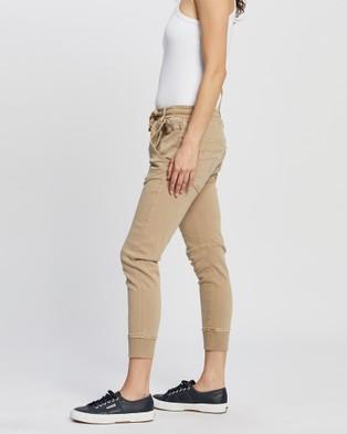DRICOPER DENIM Active Jeans - Crop (Beach Sand)