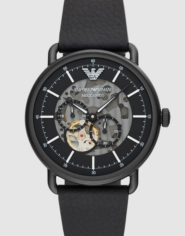 Men Black Analogue Watch AR60028