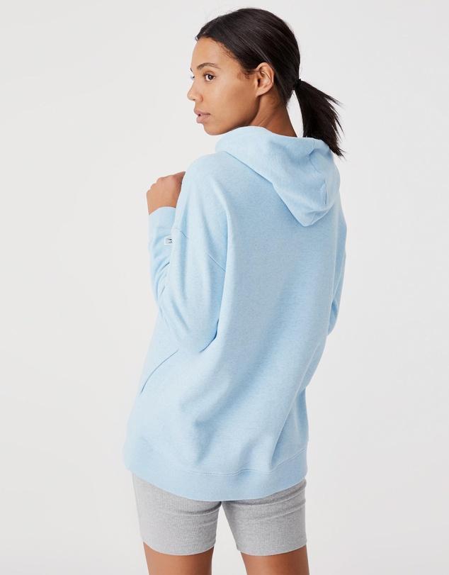 Women NRL Sharks Embroidered Pocket Hoodie