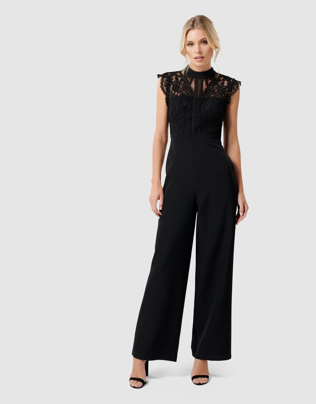 Forever New - Louella Lace Bodice Jumpsuit