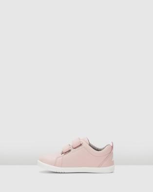 Bobux Iwalk Grass Courts II - Flats (Sea Shell Pink)
