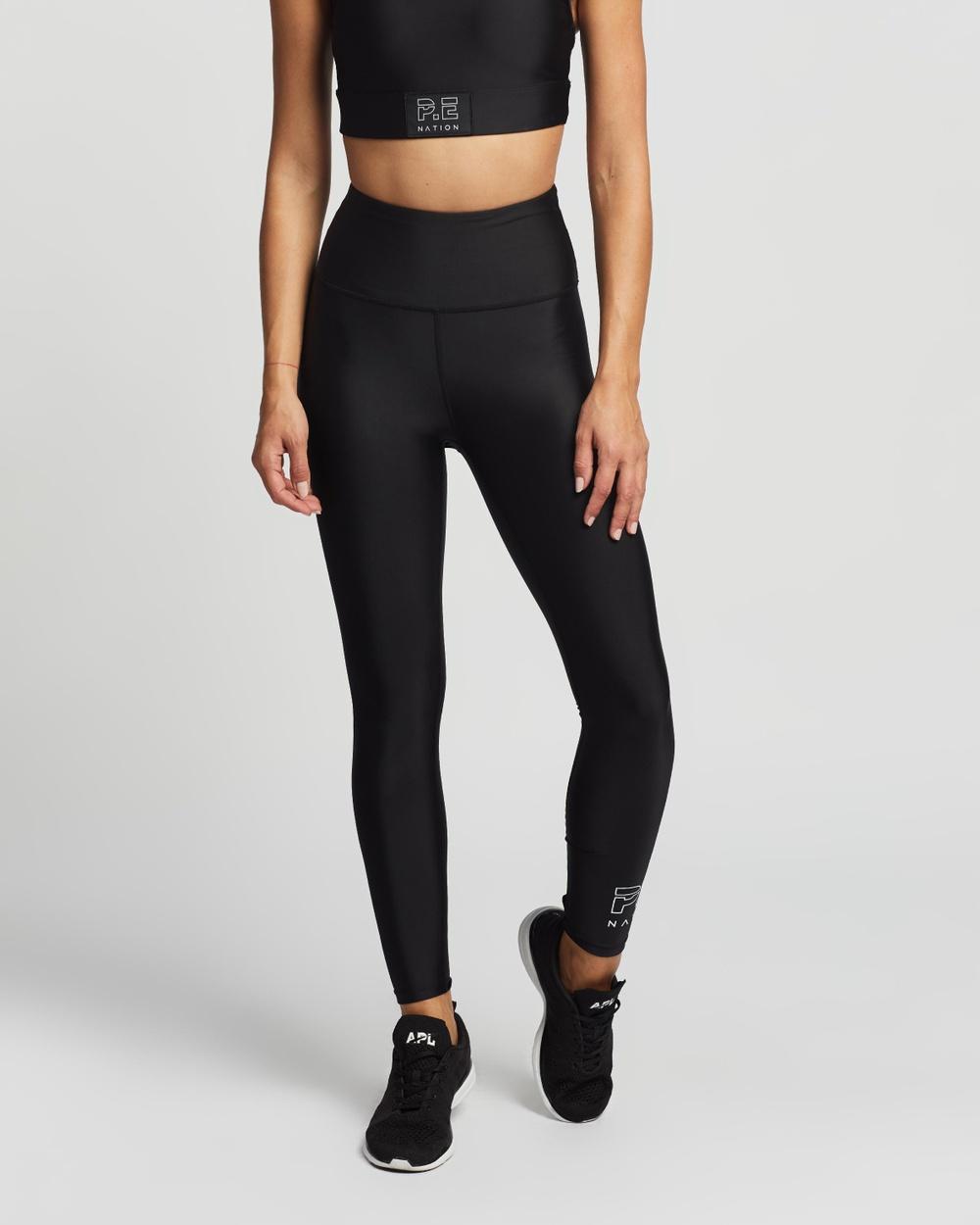 P.E Nation Baseline Endurance Leggings all compression Black