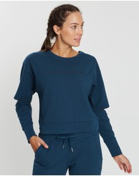 Running Bare - Cut It Out Cropped Sweat Top