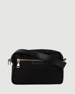 The Nappy Society Cross Body Bag Bundle - Bags (Black)