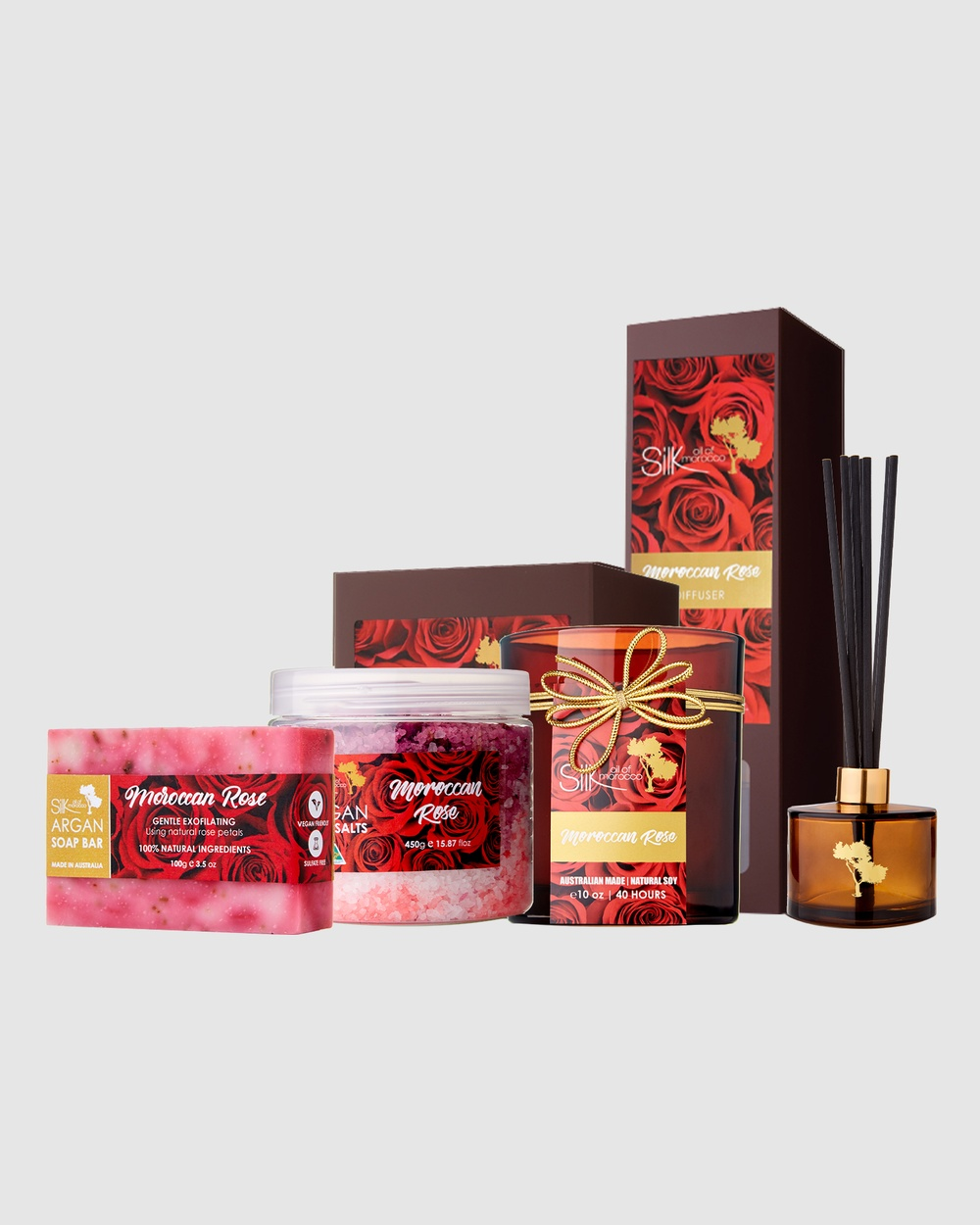 Silk Oil of Morocco Scent Selection Moroccan Rose Home Moroccan Rose Selection-