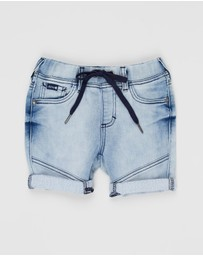 Riders Jnr By Lee - Denim Jogger Shorts - Kids