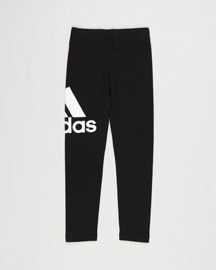 adidas Performance Essentials Tights   Kids Teens - Pants (Black & White)