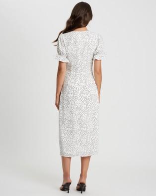 Calli Georgina Dress - Printed Dresses (White & Polka Dot)