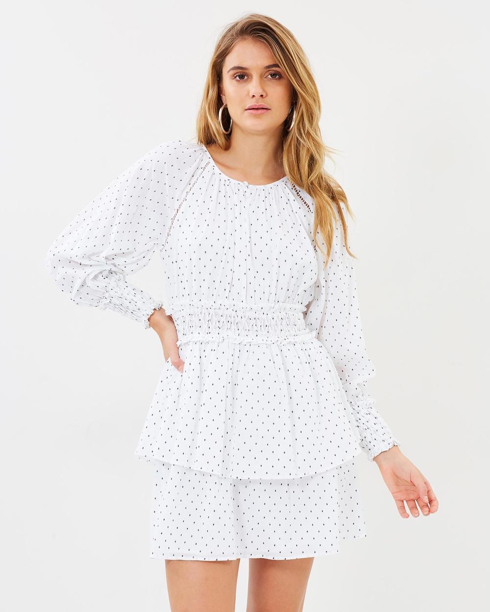 Steele Halle Dress Dresses Blanc Halle Dress