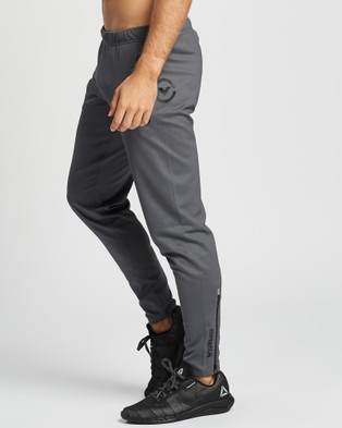 Virus Au15 BioCeramic?äó KL1 Active Track Pants - Track Pants (Charcoal & Black)