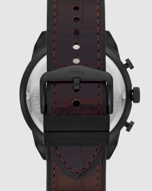 Fossil - Bronson Two Tone Chronograph Watch - Watches (Multi-Tone) Bronson Two Tone Chronograph Watch