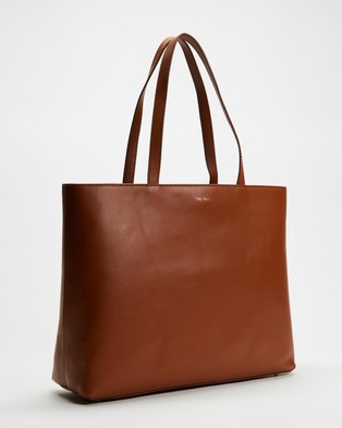 Fall The Label Square Tan Tote Bag - Bags (Tan)