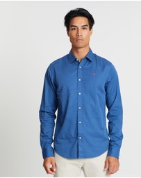 Scotch & Soda - Regular Fit Classic Garment Dyed Shirt