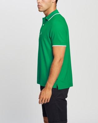 NAUTICA SS Blue SailTech Polo - Shirts & Polos (Pepper Green)