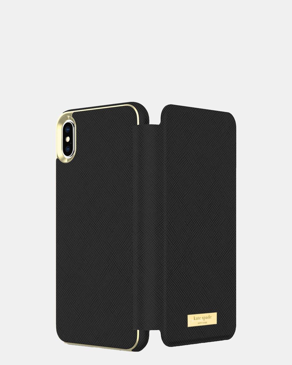 promo code 0ef5c 3fcc5 Kate Spade New York Folio Case for iPhone Xs Max