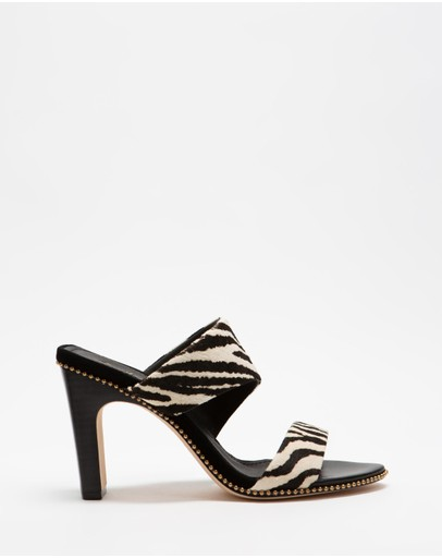 Camilla - Asymmetrical Heeled Sandals