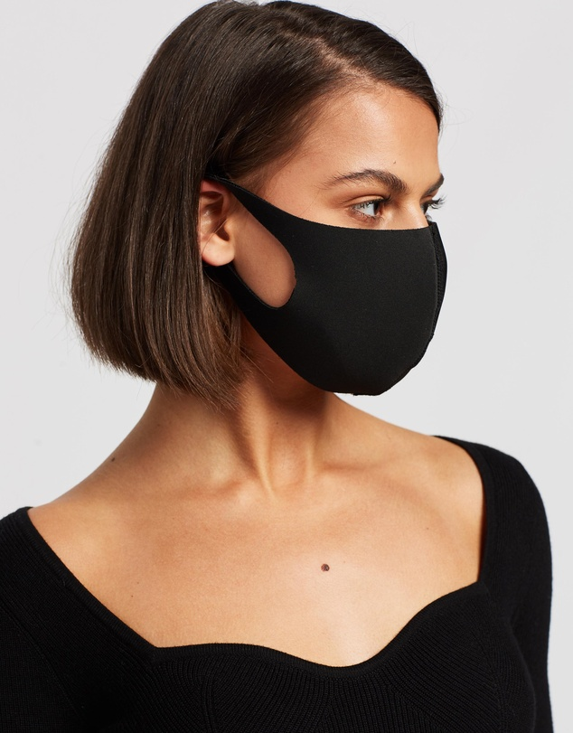 Women Contoured Non-Medical Face Mask 4-Pack