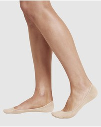 Boody Organic Bamboo Eco Wear - 4 Pack Low Hidden Sock Nude