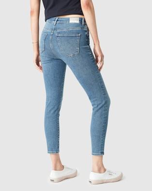 Mavi Tess Jeans - High-Waisted (Foggy Organic)