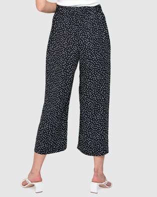 Forever New Eloise Culotte Pants - Pants (Clustered Black Spot)