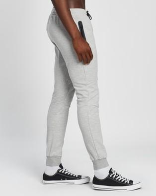 Factorie Tech Track Pants - Sweatpants (Light Grey Marle)
