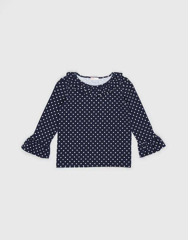 crewcuts by J Crew - Tracey Ruffle Sleeve Top - Kids
