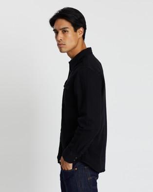 Levi's Barstow Western Standard Shirt - Casual shirts (Black Denim Rinse)