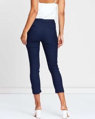 Atmos&Here Victoria Pants - Pants (Navy)