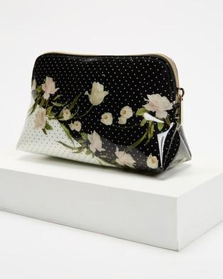 Ted Baker Cordell Elderflower Makeup Bag - Toiletry Bags (Black)