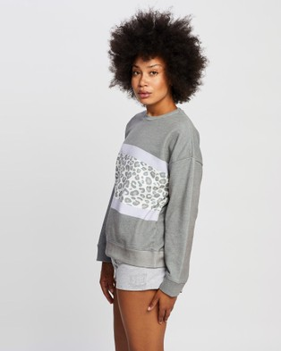 All About Eve Wanderer Crew - Crew Necks (CHARCOAL)