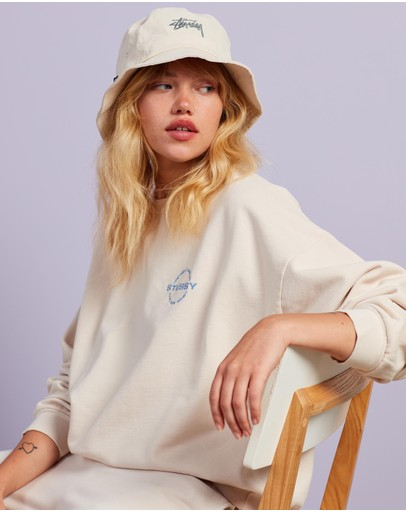 Stussy - City Circle Oversized Crew