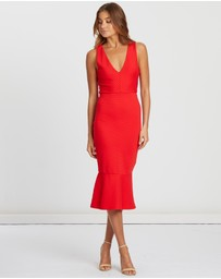 CHANCERY - Lilah Bodycon Midi Dress