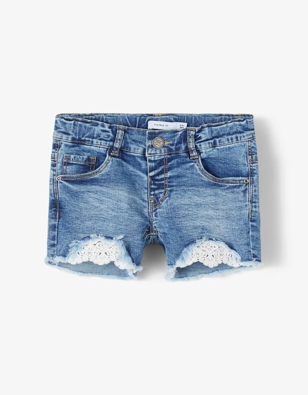 Kids Salli Denim Shorts - Babies-Kids