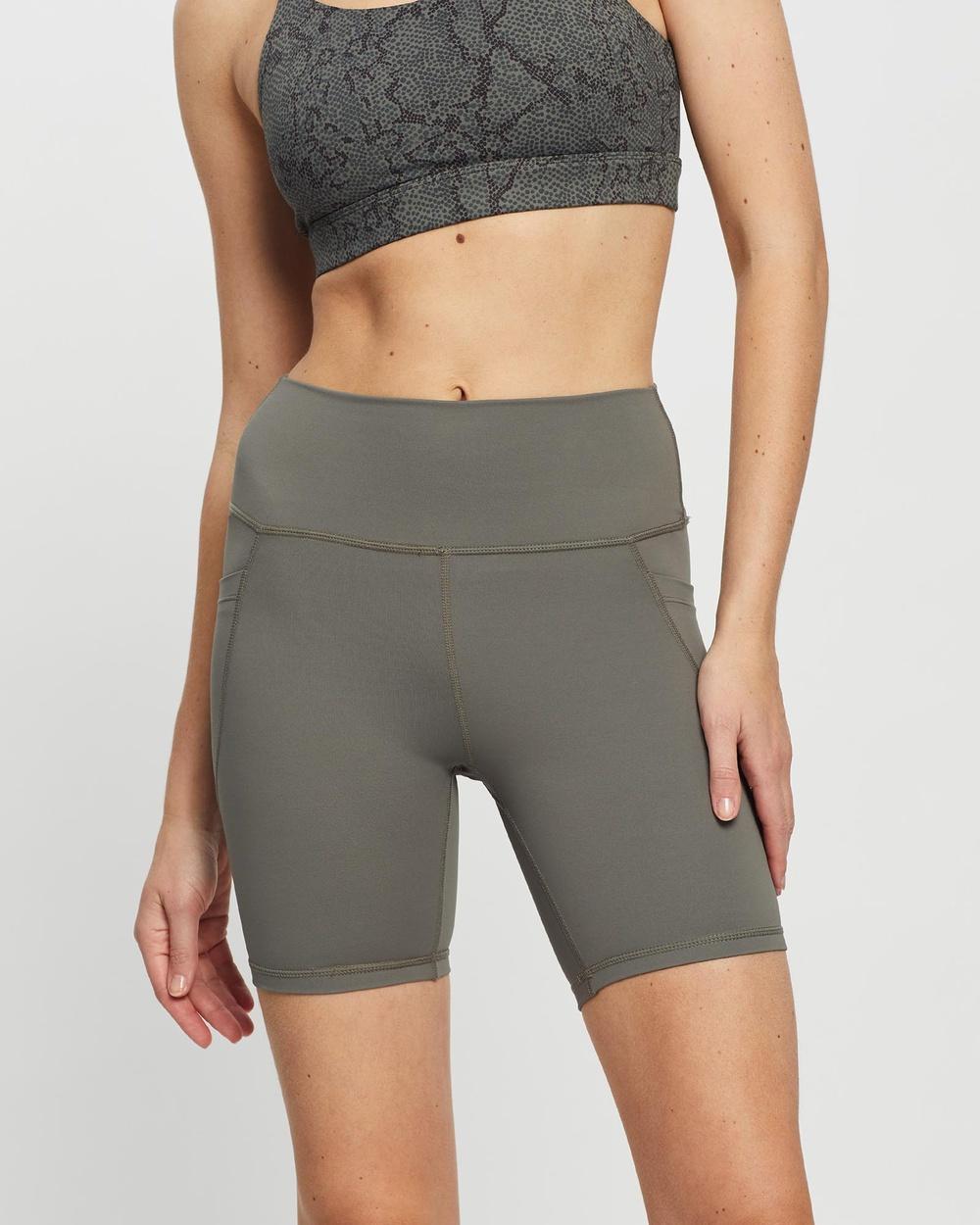 All Fenix Core Pocket Bike Shorts Sports Tights Olive