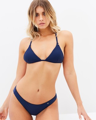 All About Eve – Eve Cheeky Pants – Bikini Bottoms (Navy)
