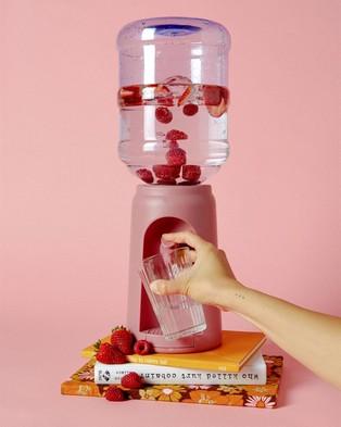 Typo Desktop Water Cooler - Home (Dusty Pink)