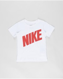 Nike - Block Logo Short Sleeve Tee - Kids