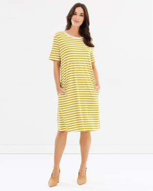 Lincoln St – The Boxy Dress Dandelion