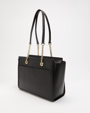 DKNY Polly Tote - Bags (Black & Gold)