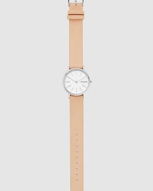 Skagen Signatur Pink Analogue Watch - Watches (Pink)